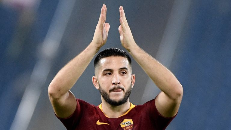 Kostas Manolas is linked to a move to Manchester United