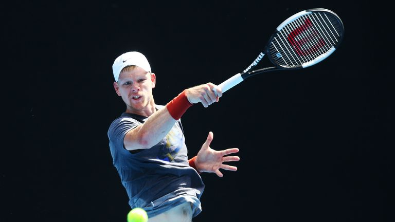Kyle Edmund takes on Tomas Berdych having lost their only match-up in Doha in 2016