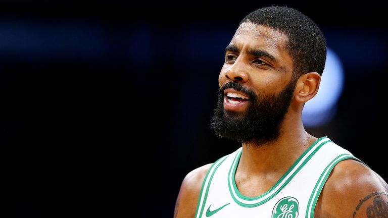 Irving has cut a frustrated figure for the Boston Celtics at times this season