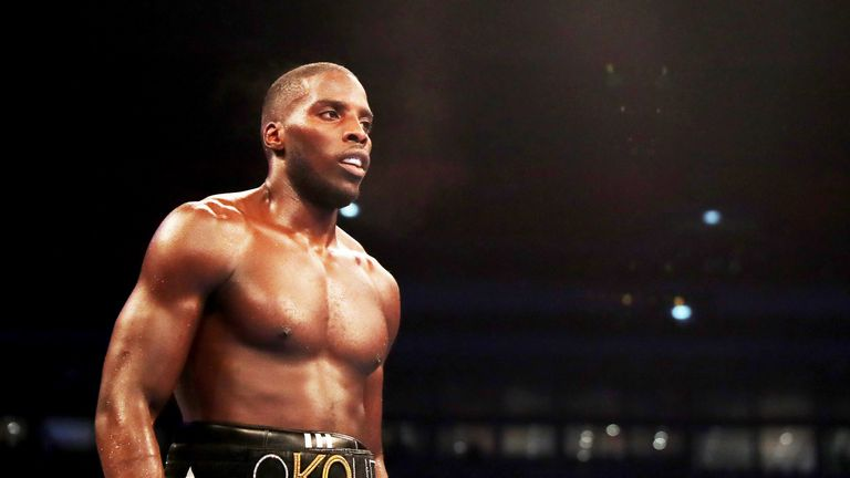 Lawrence Okolie also appears on next month's bill at The O2