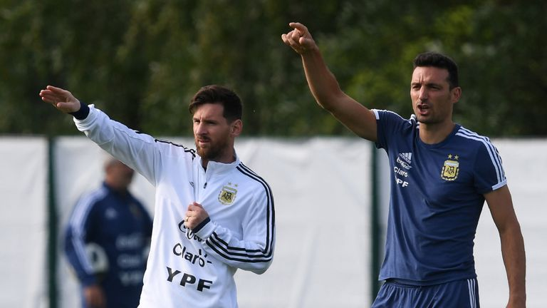 Argentina coach Lionel Scaloni hopeful Lionel Messi will return to national  team before Copa America | Football News | Sky Sports