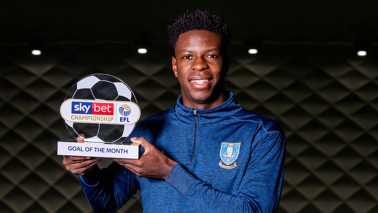 Sky Bet EFL Goal of the Month winners: Lucas Joao, Cauley Woodrow and Wes Thomas | Football News |