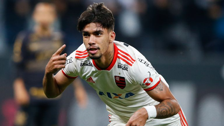 Lucas Paqueta has arrived at the San Siro from Flamengo for a little over £31m