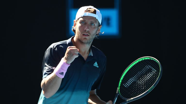 Lucas Pouille defeats Milos Raonic to reach Australian Open semi-finals