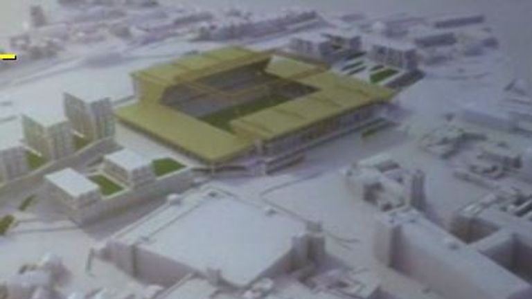 Luton Town's proposed new stadium