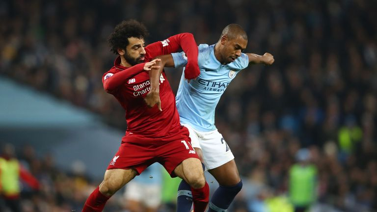 Manchester City closed the gap at the top of the Premier League with their 2-1 win over Liverpool