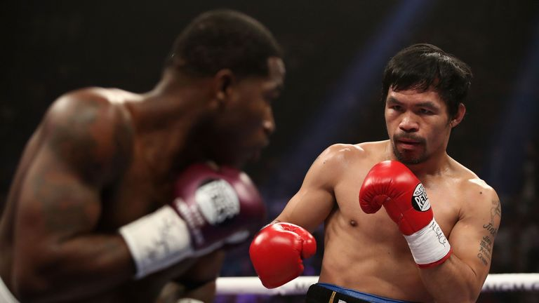 Pacquiao defeated Adrien Broner in January