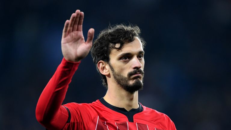 Manolo Gabbiadini October 2018