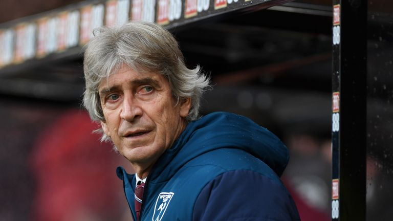Manuel Pellegrini rued his side's cutting edge as West Ham were beaten at Bournemouth