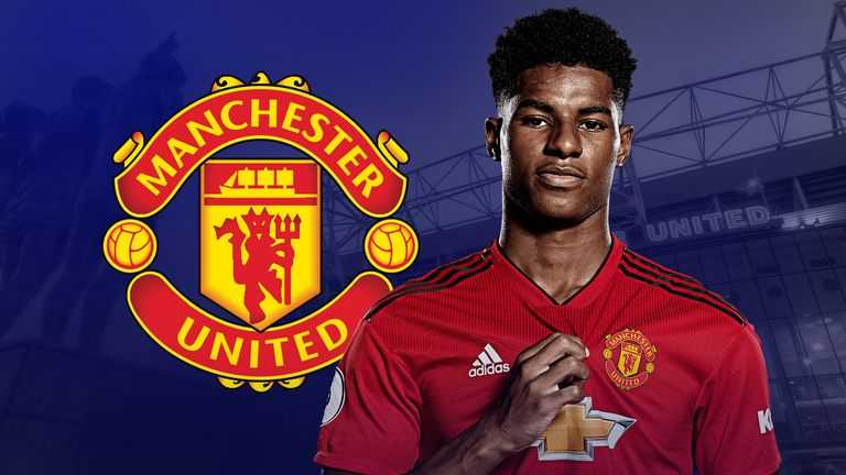 Marcus Rashford In Form Of His Career Ahead Of 150th Manchester United Game Football News Sky Sports