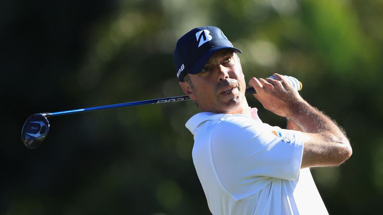 Matt Kuchar has the lead heading into the weekend