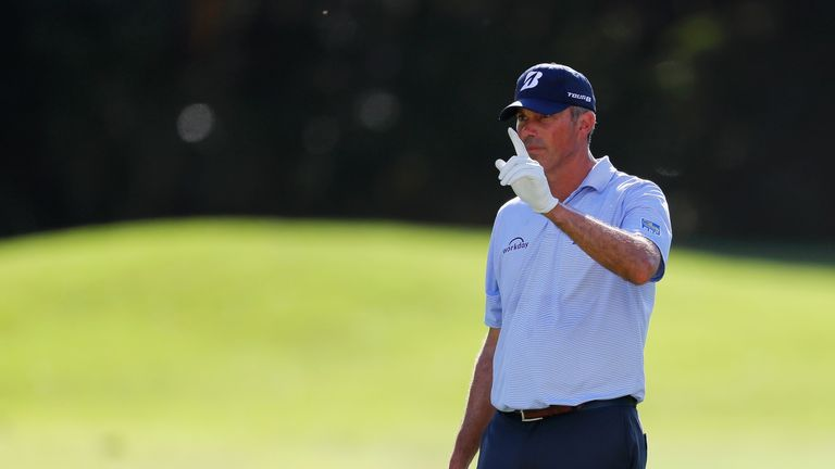 Kuchar has dropped only one shot in 54 holes