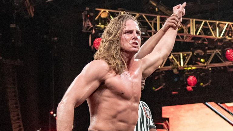 Matt Riddle collected a good win over Kassius Ohno - but paid the price after the match