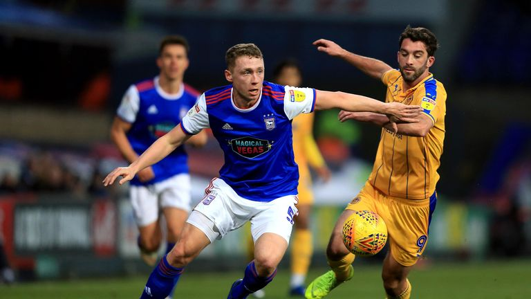 Matthew Pennington should be available for Ipswich