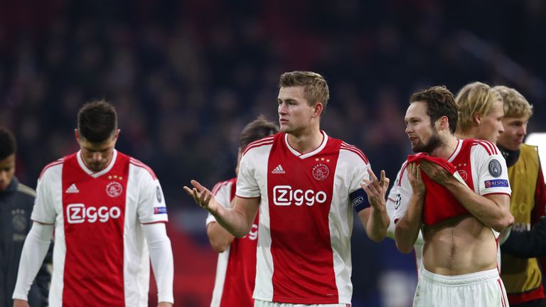 Juventus hope to talk to Matthijs de Ligt