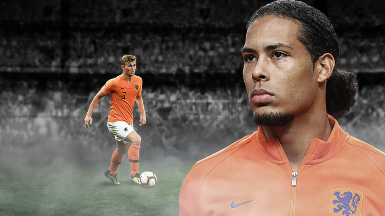 Matthijs de Ligt has been compared to Virgil van Dijk
