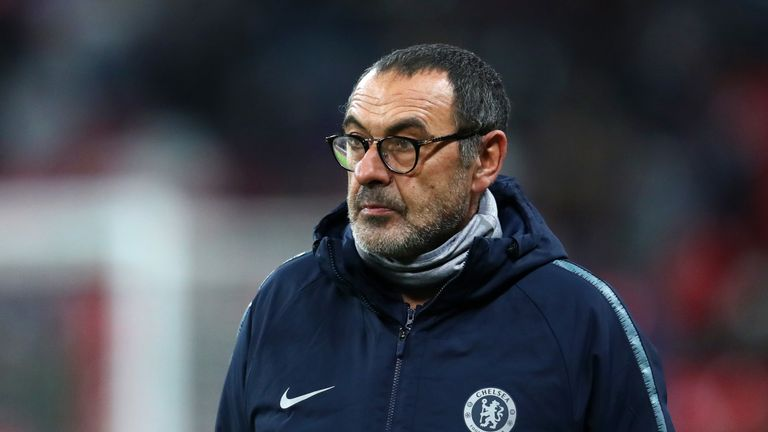 Maurizio Sarri said English referees were not ready to use VAR folllowing Chelsea's defeat to Tottenham on Tuesday