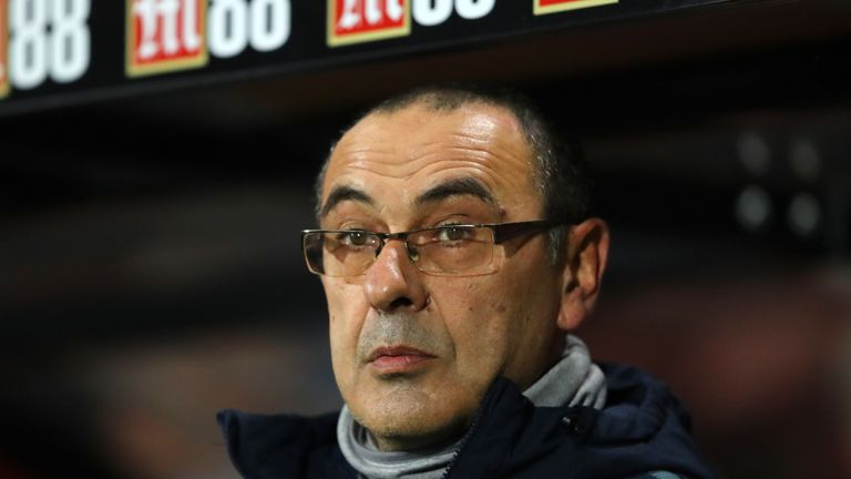 Chelsea manager Maurizio Sarri has questioned whether he can motivate his players