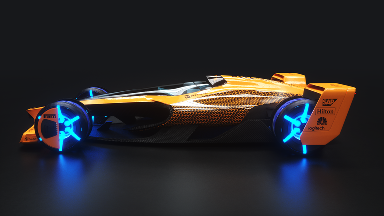 Here's McLaren's Idea for a Formula 1 Car in the Year 2050