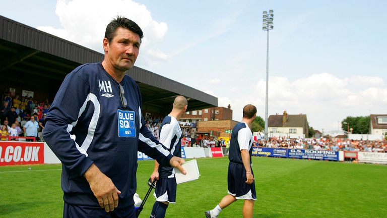 Mick Harford will take charge of Luton against Sunderland, having previously managed them between 2008 and 2009