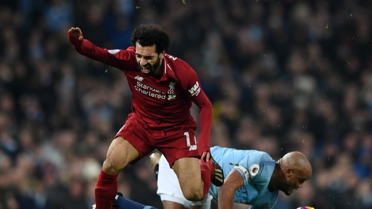 Even with VAR, it is very unlikely Kompany would have been shown a red card for his tackle on Mohamed Salah in January