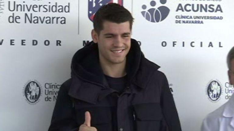 Alvaro Morata finishes medical ahead of Atletico Madrid move
