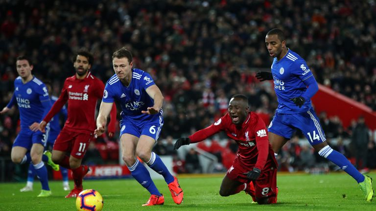 Naby Keita was denied a penalty in Liverpool's draw with Leicester, according to Dermot Gallagher