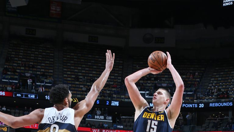 Nuggets v Pelicans