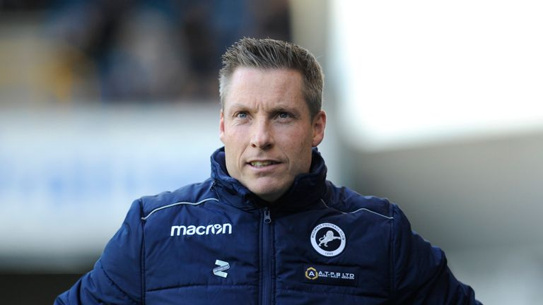Neil Harris has led Millwall to four wins in a row in all competitions