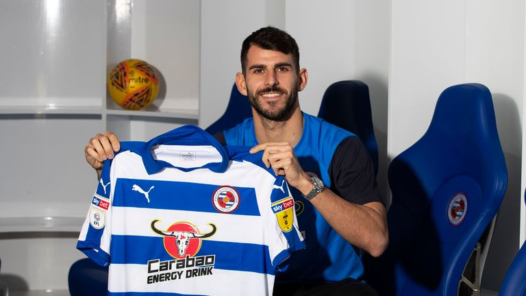 Nelson Oliveira has joined Reading on loan until the end of the season