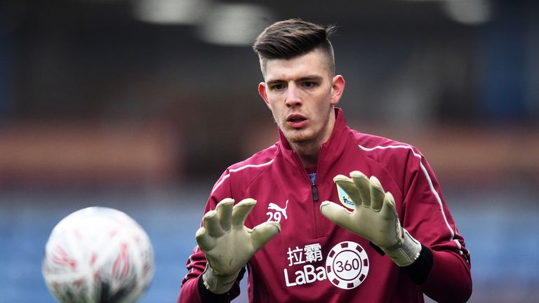 during the FA Cup Third Round match between Burnley and Barnsley at Turf Moor on January 5, 2019 in Burnley, United Kingdom.