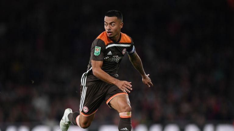 Nico Yennaris made 20 appearances for Brentford this season prior to his move to China