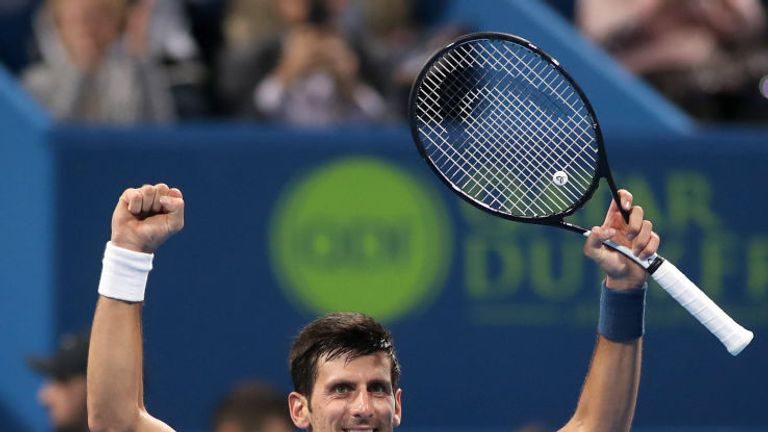 Novak Djokovic ready for new season after Abu Dhabi triumph
