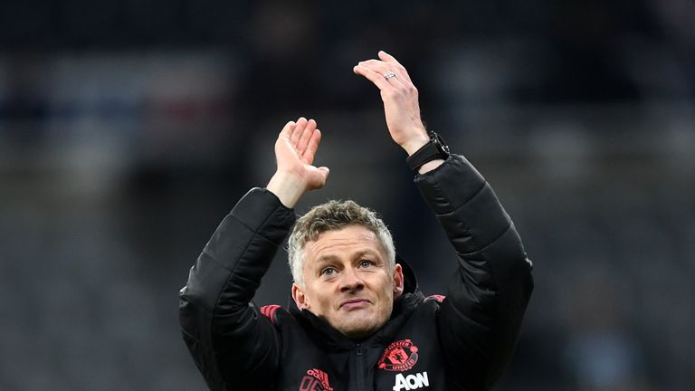 Ole Gunnar Solskjaer faces his first real test as Manchester United boss at the home of football on Super Sunday
