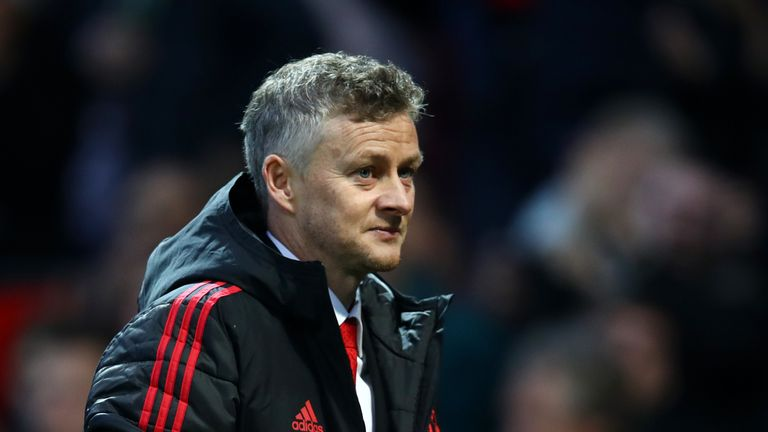 during the Premier League match between Manchester United and Huddersfield Town at Old Trafford on December 26, 2018 in Manchester, United Kingdom.