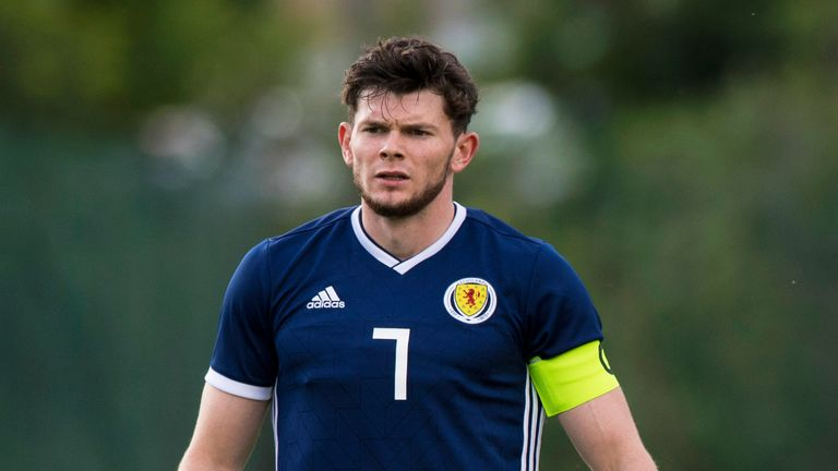 Burke has nine caps for Scotland U21s