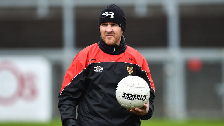 Paddy Tally is facing into his first year in charge of Down