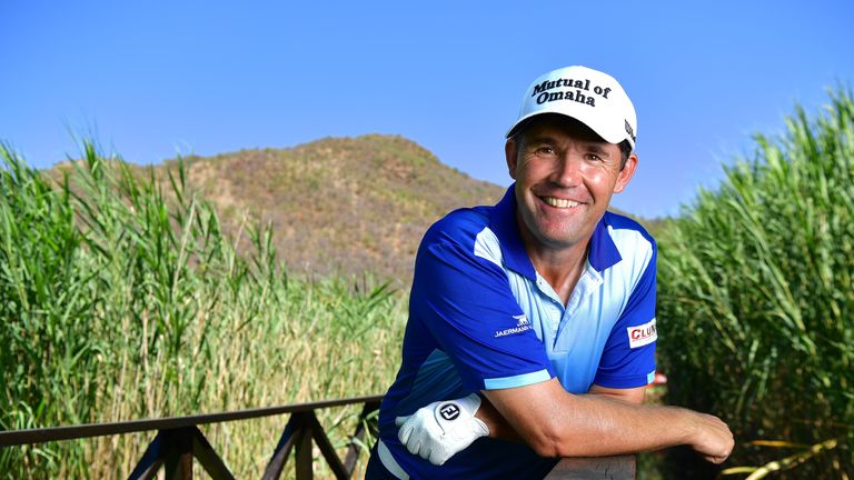 Harrington chosen as Europe's Ryder Cup skipper