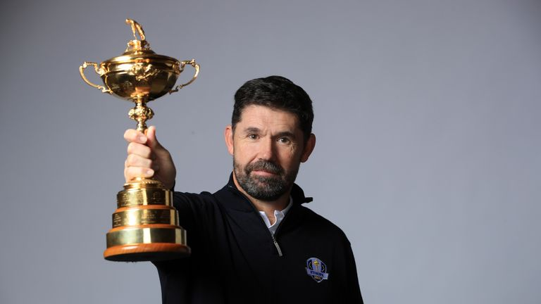 Padraig Harrington will captain Europe at the 2020 Ryder Cup at Whistling Straits.