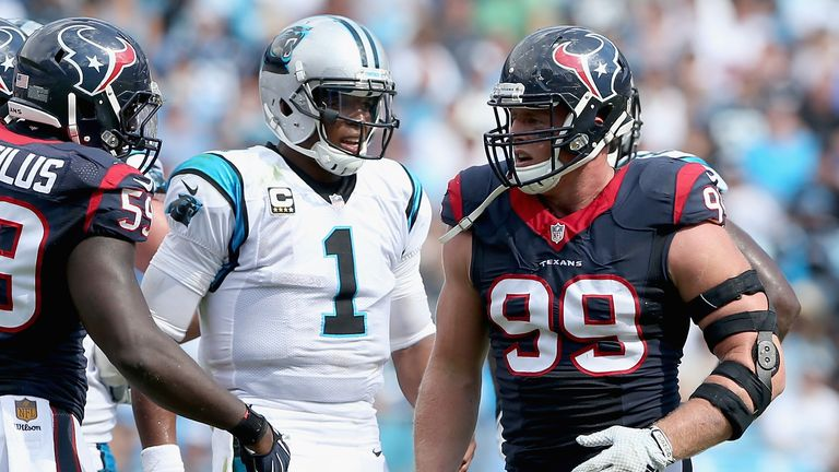 The Carolina Panthers and the Houston Texans are set to make their UK debuts