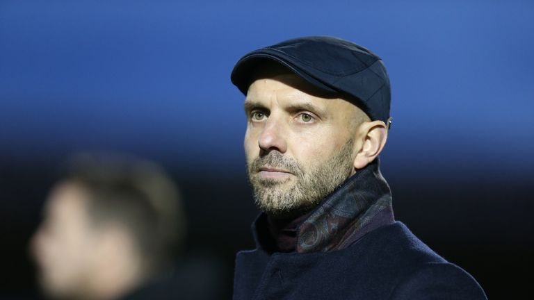 Paul Tisdale saw his MK Dons side cut the gap to League Two leaders Lincoln to just four points