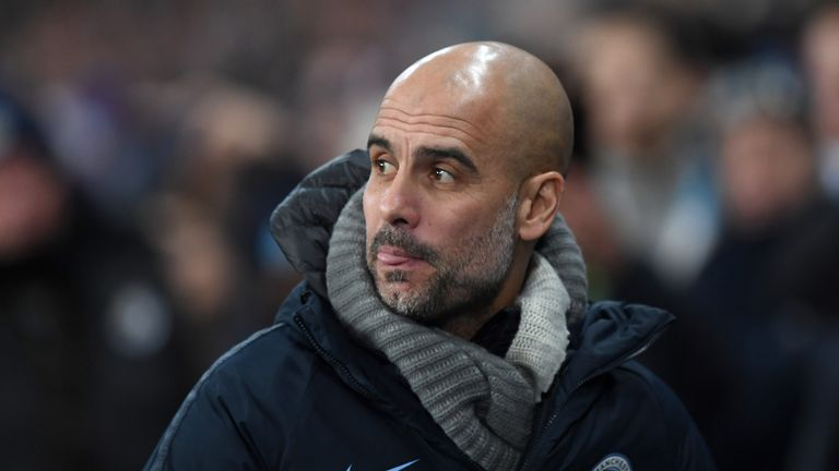 Man City boss Guardiola dismisses 'ridiculous' four-peat hopes