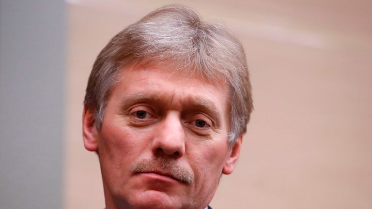 Dmitry Peskov, Kremlin spokesman, refuted suggestions Russia had refused to hand over data