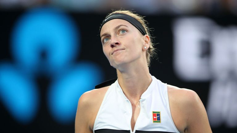 Kvitova was playing in her first major final since winning Wimbledon in 2014 and only two years after the knife attack at her home that put her career in the balance