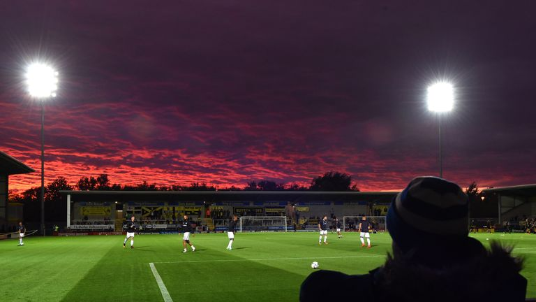 BURTON-UPON-TRENT, ENGLAND - SEPTEMBER 27: General view of the Pirelli Stadium before the Sky Bet Championship match between Burton Albion and Queens Park Rangers on September 27, 2016 in Burton-upon-Trent, England. (Photo by Nathan Stirk/Getty Images)