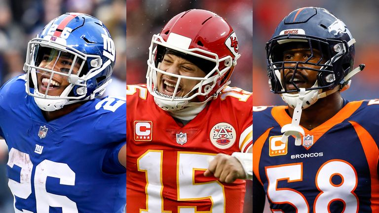 competitive price 1d3d0 63a3f 2019 Pro Bowl: Patrick Mahomes, Saquon Barkley among ones to ...