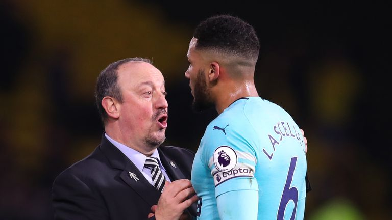 Jamaal Lascelles is aiming to stay calm under pressure, like Rafa Benitez