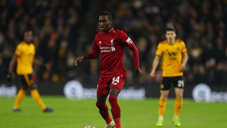 Sporting Lisbon interested in Liverpool youngster Rafael Camacho