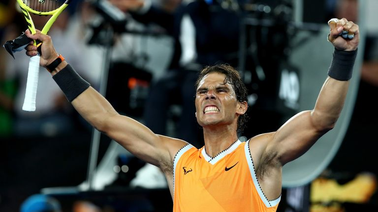 Nadal was at his relentless best, hitting 29 winners and 11 aces