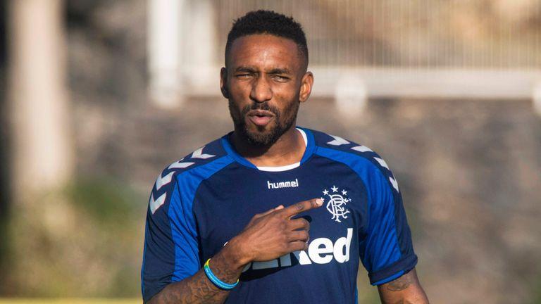 Jermain Defoe's Rangers debut has been put on hold